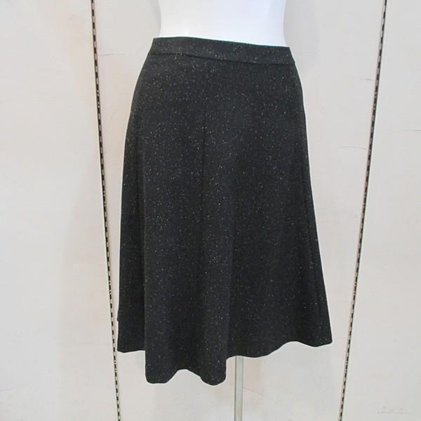 インディヴィ INDIVI レディース カラーネップフレアスカート (アウトレット30%OFF) 通常販売価格:17050円|fashionspace-yokoya|02