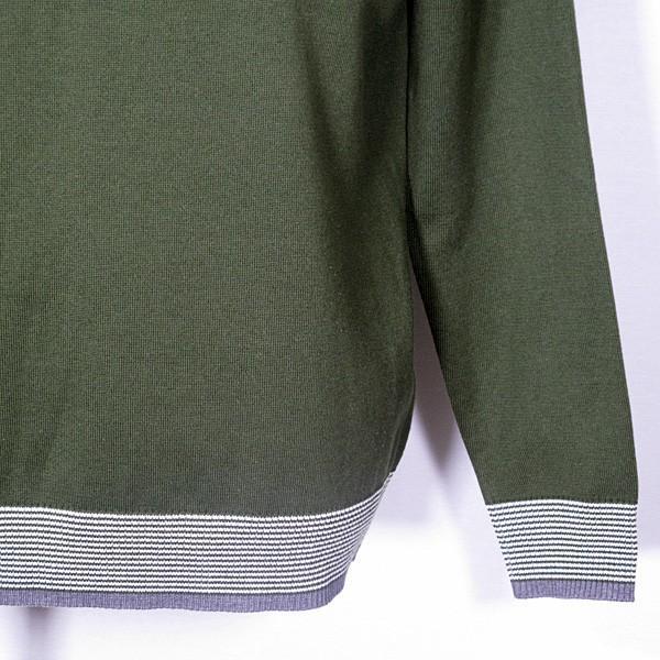 23区ゴルフ 23区GOLF メンズ 長袖ハイネックジップアップニットカットソー ゴルフウェア 通常販売価格:18700円|fashionspace-yokoya|10