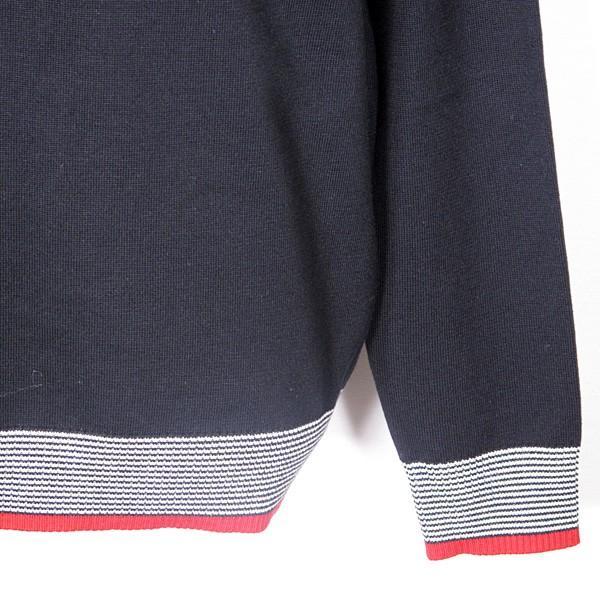 23区ゴルフ 23区GOLF メンズ 長袖ハイネックジップアップニットカットソー ゴルフウェア 通常販売価格:18700円|fashionspace-yokoya|03