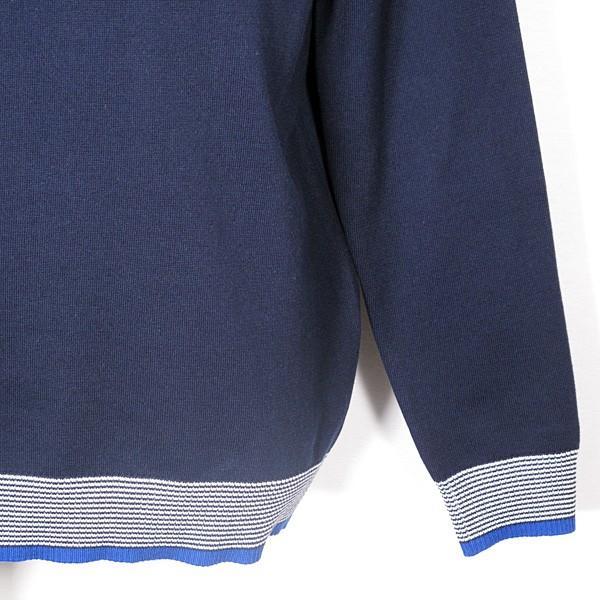23区ゴルフ 23区GOLF メンズ 長袖ハイネックジップアップニットカットソー ゴルフウェア 通常販売価格:18700円|fashionspace-yokoya|06