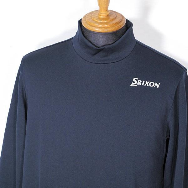 スリクソン SRIXON メンズ 長袖ハイネックあったかシャツ インナー ゴルフウェア 2019秋冬新作 通常販売価格:9790円|fashionspace-yokoya|02