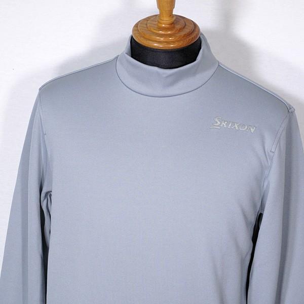 スリクソン SRIXON メンズ 長袖ハイネックあったかシャツ インナー ゴルフウェア 2019秋冬新作 通常販売価格:9790円|fashionspace-yokoya|06