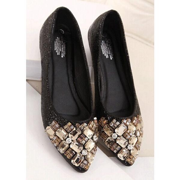 パンプス 低反発クッションソール 美脚 ポインテッドトゥ プレーン ベーシック パンプス 結婚式 パーティー パンプス 靴 きらきらラメ素材で華やか