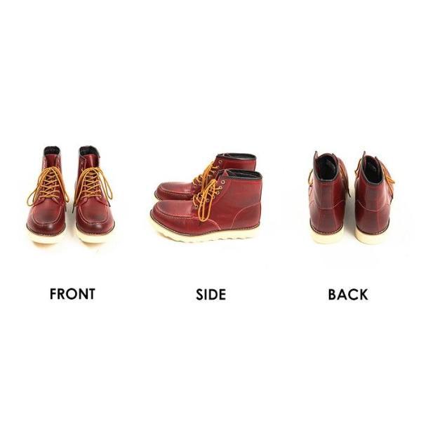 ワークブーツ/メンズ/ショートブーツ/ブーツ/レザーブーツ|fastcolors|04