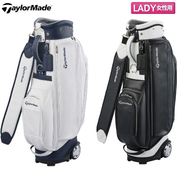 d4b40fd5ca 「レディース」 テーラーメイド ゴルフ TM ウィメンズ KY332 キャスター キャディバッグ TaylorMade ゴルフバッグの画像