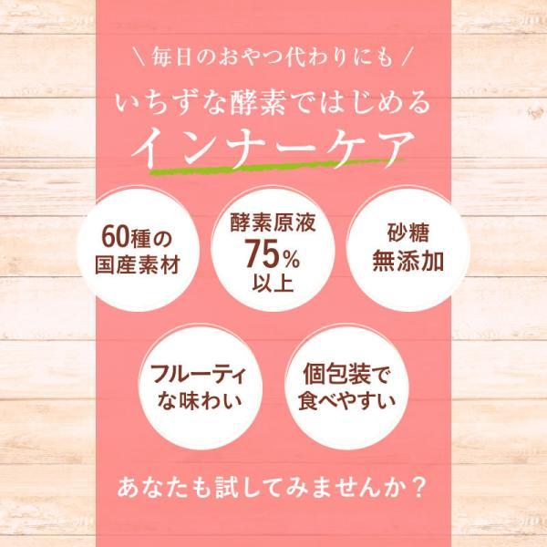 いちずな酵素 酵素 サプリ ダイエット 野生 酵母 腸内環境 を整える 酵素ゼリー 腸内フローラ サプリメント|favorina-favo|03