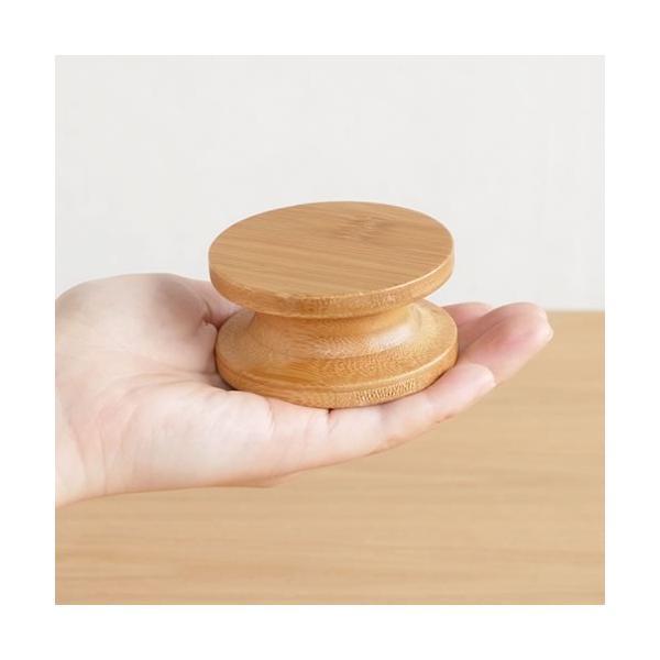 GudeeLife 壁掛け フック おしゃれ ハンガー 丸 耐荷重5kg 木 竹製 コートフック ウォールフック 帽子掛け 見せる収納|favoritestyle|10