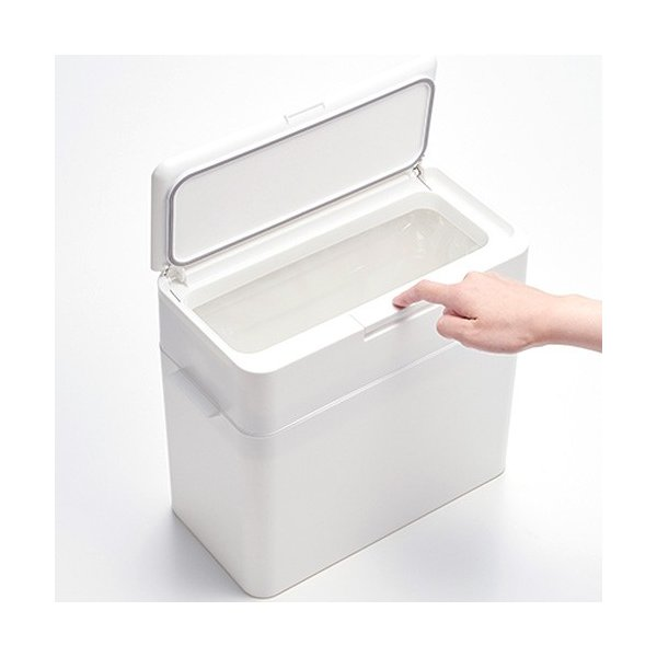[クーポン配布中] シールズ ゴミ箱 9.5 密閉 ダストボックス 9.5L ふた付き プッシュ式 日本製 seals ライクイット like-it|favoritestyle|04
