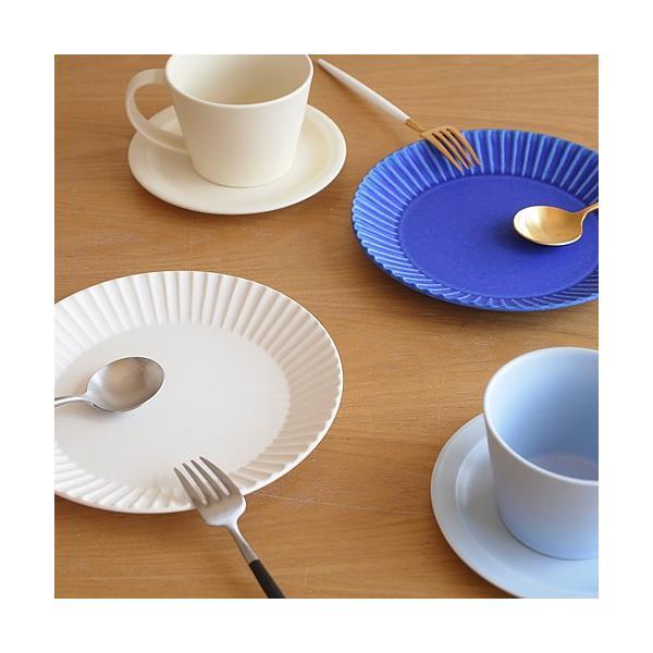 SAKUZAN ストライプ Stripe 丸皿 M 18.8cm プレート 作山窯 美濃焼 食器 取り皿 中皿 浅皿 丸型 円形 日本製 和食器|favoritestyle|05