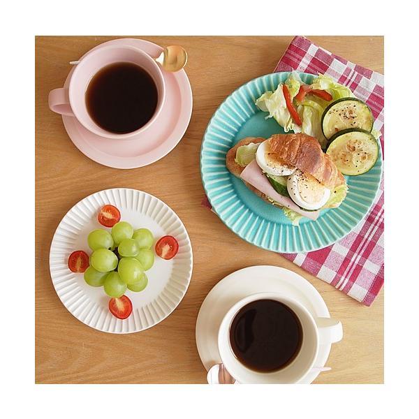 SAKUZAN ストライプ Stripe 丸皿 M 18.8cm プレート 作山窯 美濃焼 食器 取り皿 中皿 浅皿 丸型 円形 日本製 和食器|favoritestyle|06