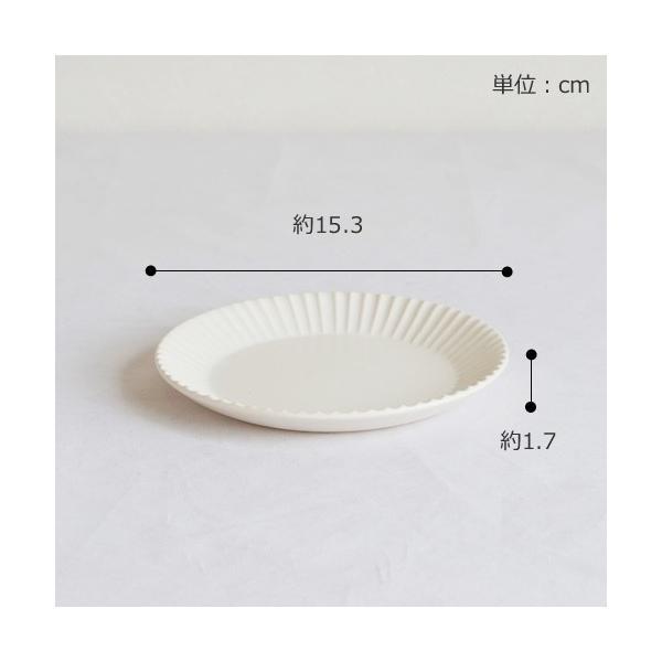 [クーポン配布中] SAKUZAN ストライプ Stripe 丸皿 S 15.3cm プレート 作山窯 美濃焼 食器 取り皿 小皿 浅皿 日本製 和食器 手仕事 うつわ 器 手作り|favoritestyle|02