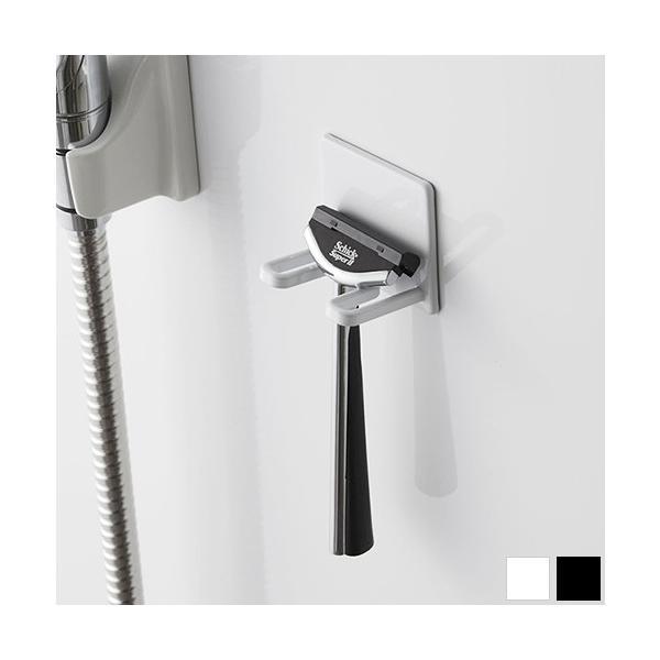 マグネットバスルームシェーバーホルダー tower タワー 山崎実業  壁 収納 浴室収納 壁面収納 バスルーム 磁石 04706 04707|favoritestyle