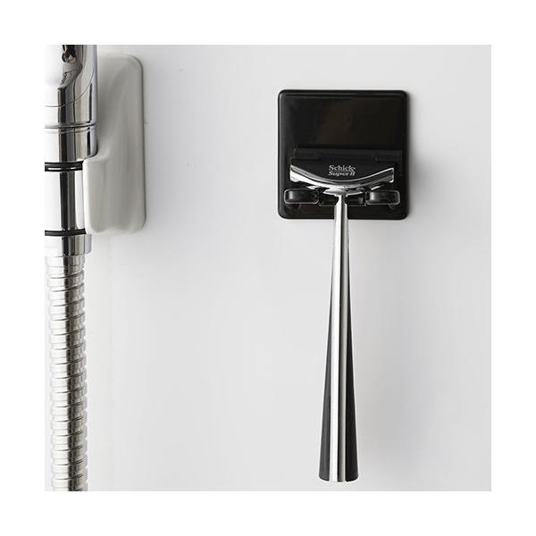 マグネットバスルームシェーバーホルダー tower タワー 山崎実業  壁 収納 浴室収納 壁面収納 バスルーム 磁石 04706 04707|favoritestyle|09