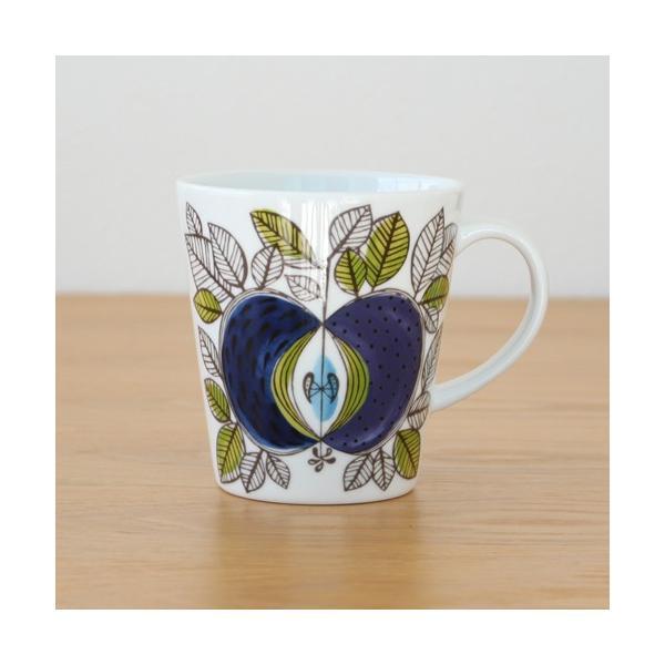 ロールストランド エデン マグカップ 340ml リンゴ柄 Rorstrand Eden 取っ手付き コップ|favoritestyle|03