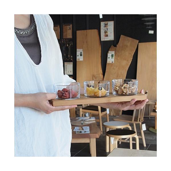 【取扱終了】 サガフォルム sagaform taste サーヴィングセット board with 3glasses 小鉢 北欧 ガラスボウル 3個 セット 木製トレイ ギフトボックス付き|favoritestyle|03