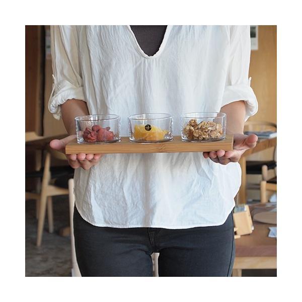 【取扱終了】 サガフォルム sagaform taste サーヴィングセット board with 3glasses 小鉢 北欧 ガラスボウル 3個 セット 木製トレイ ギフトボックス付き|favoritestyle|04