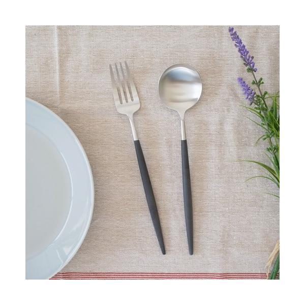 クチポール ゴア テーブルスプーン ブラック Cutipol GOA カトラリー スプーン 食器 おしゃれ 軽量 カフェ CTGO-05-BK|favoritestyle|03