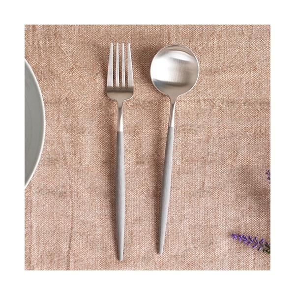 クチポール ゴア テーブルスプーン グレー Cutipol GOA カトラリー スプーン 食器 おしゃれ カフェ 軽量 CTGO-05-GR|favoritestyle|03