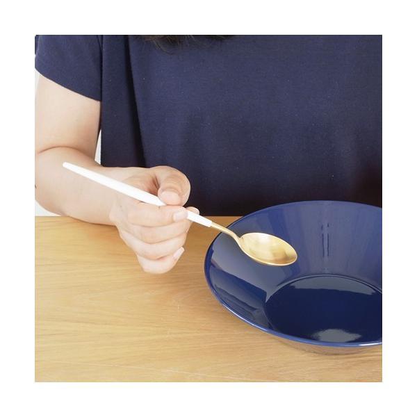 クチポール ゴア テーブルスプーン ホワイトゴールド Cutipol GOA カトラリー スプーン 食器 おしゃれ 軽量 カフェ CTGO-05-GW favoritestyle 06