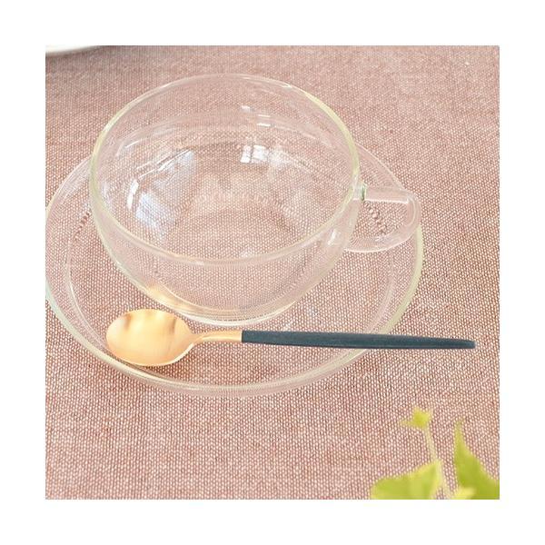 クチポール ゴア ティースプーン ブルー ゴールド Cutipol GOA カトラリー スプーン 食器 おしゃれ 軽量 カフェ CTGO-11-GBL|favoritestyle|03