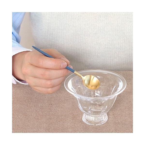 クチポール ゴア ティースプーン ブルー ゴールド Cutipol GOA カトラリー スプーン 食器 おしゃれ 軽量 カフェ CTGO-11-GBL|favoritestyle|04