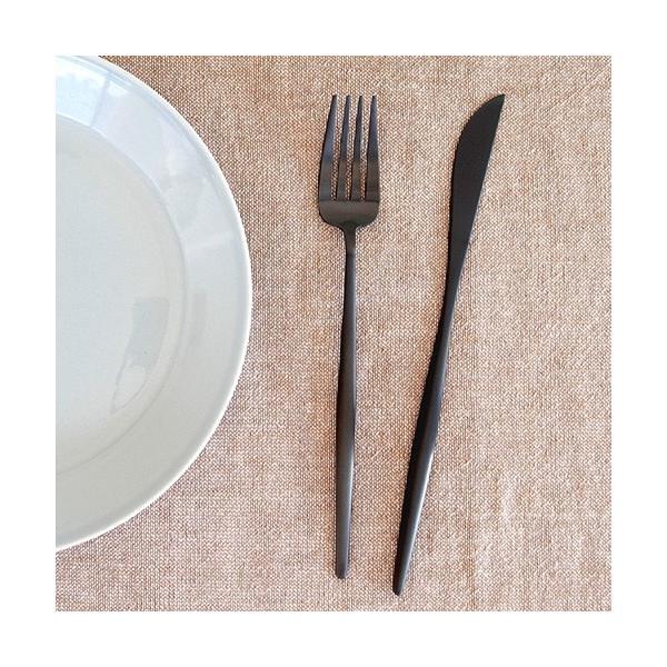 クチポール ムーン マット ブラック ディナーフォーク Cutipol MOON MATT BLACK カトラリー フォーク 食器 おしゃれ 軽量 カフェ CTMO-04-BKF|favoritestyle|03