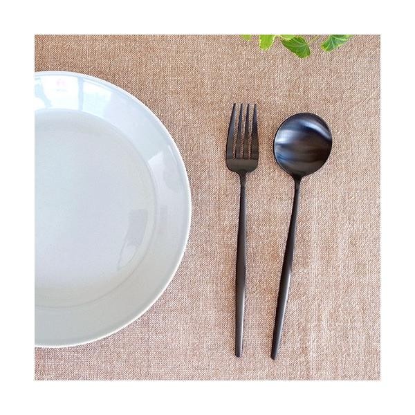 クチポール ムーン マット ブラック テーブルスプーン Cutipol MOON MATT BLACK カトラリー スプーン 食器 おしゃれ 軽量 カフェ CTMO-05-BKF favoritestyle 03
