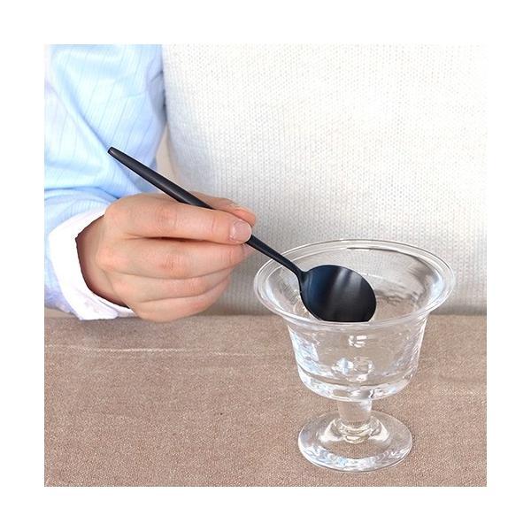 クチポール ムーン マット  ブラック デザートスプーン Cutipol MOON MATT BLACK カトラリー スプーン 食器 おしゃれ 軽量 カフェ CTMO-08-BKF|favoritestyle|06