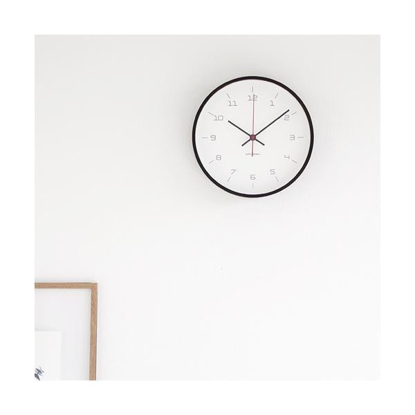 加藤木工 カトモク KATOMOKU plywood wall clock 16 ブラウン 掛時計 壁掛け スイープムーブメント 連続秒針 電波時計 KM-105BRRC|favoritestyle|02