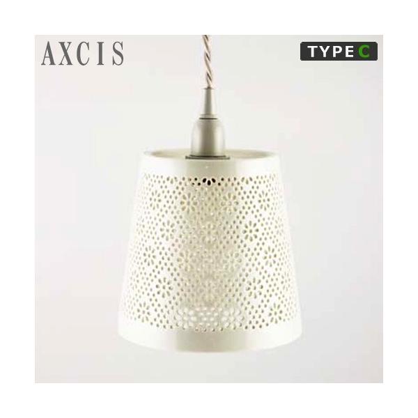 AXCIS アクシス 陶器 シェード フラワーレース 花柄 ランプシェード タイプC 照明 ランプ 白 ホワイト favoritestyle