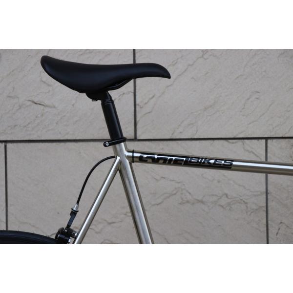 ピストバイク 完成車 CARTEL BIKES AVENUE LO CHROME PISTBIKE カーテルバイク アベニュー ロー クローム ライザーバーカスタム 自転車 ロードバイク ブランド|favus|05