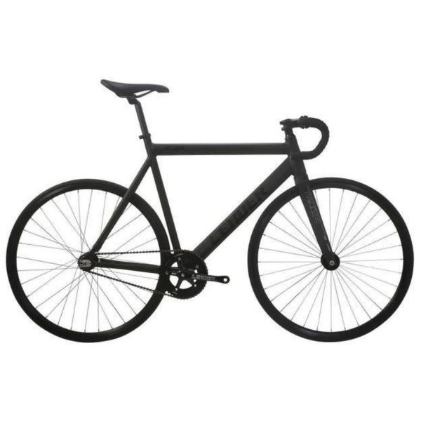 LEADER BIKES リーダーバイクス 721 MAT BLACK ピストバイク 完成車 アルミ フレーム カーボン 軽量 自転車 マットブラック 人気|favus|02