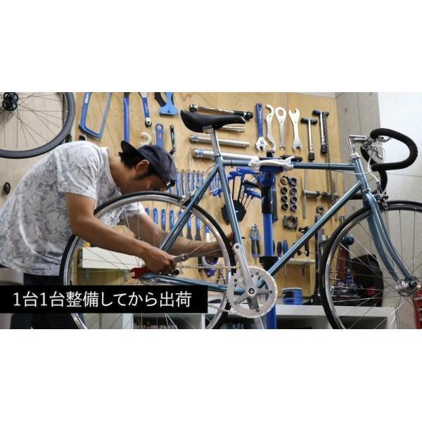 LEADER BIKES リーダーバイクス 721 MAT BLACK ピストバイク 完成車 アルミ フレーム カーボン 軽量 自転車 マットブラック 人気|favus|06