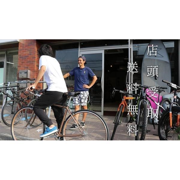LEADER BIKES リーダーバイクス 721 MAT BLACK ピストバイク 完成車 アルミ フレーム カーボン 軽量 自転車 マットブラック 人気|favus|07