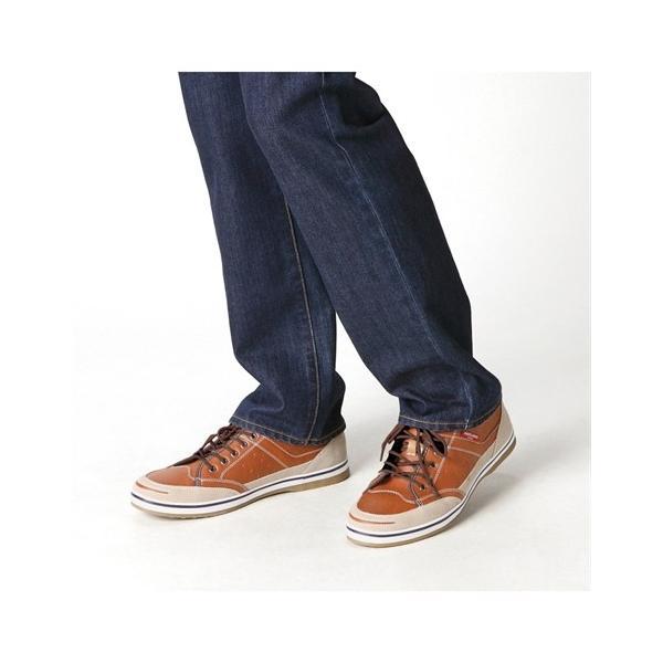 アメリカニーノエドウイン スニーカー(ふかふか中敷仕様) 25cm〜28cm メンズ シューズ 靴 ニッセン|faz-store|02