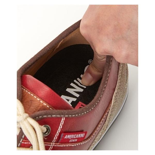 アメリカニーノエドウイン スニーカー(ふかふか中敷仕様) 25cm〜28cm メンズ シューズ 靴 ニッセン|faz-store|07