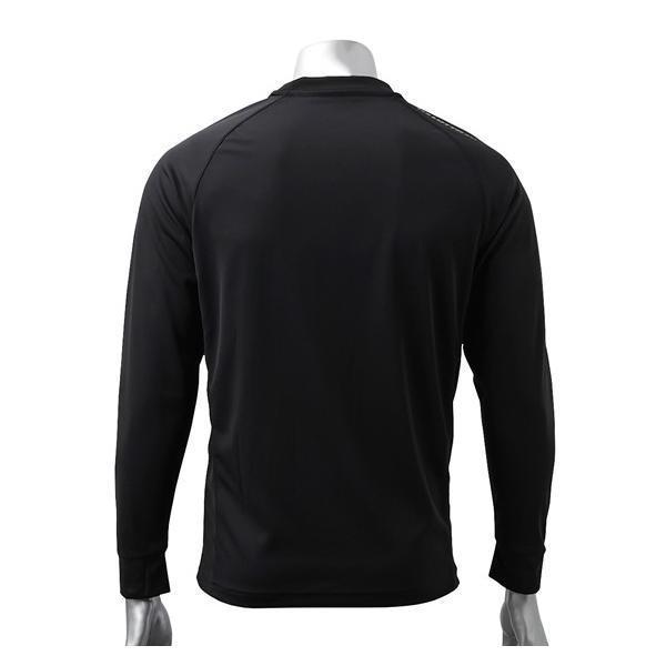 ロット(LOTTO) 長袖Tシャツ 大きいサイズ メンズ M-8L ラグラン切替えロゴプリントTシャツ スポーツウエア ワンマイルウエア|faz-store|02