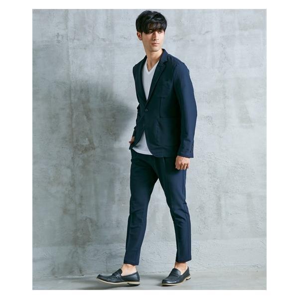 セットアップスーツ メンズ M-4L ストレッチ素材セットアップスーツ(ジャケット+パンツ) 大きいサイズ メンズ 上下セットでお買い得 送料無料|faz-store|11