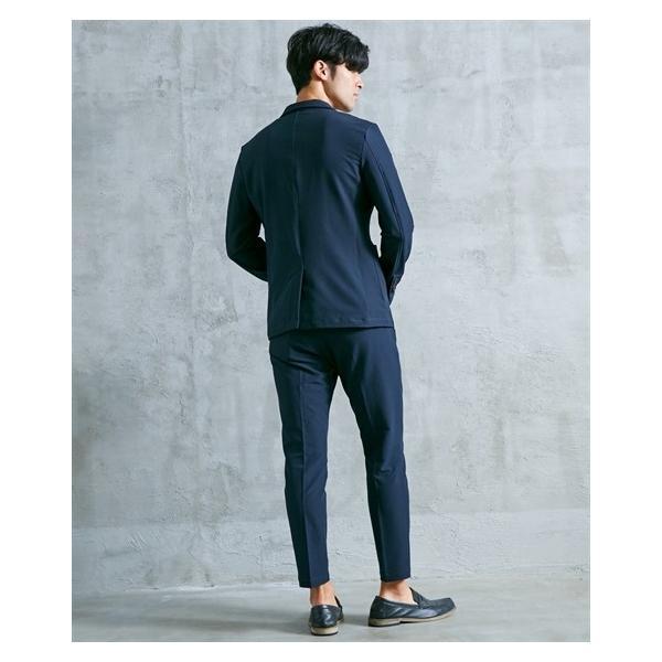 セットアップスーツ メンズ M-4L ストレッチ素材セットアップスーツ(ジャケット+パンツ) 大きいサイズ メンズ 上下セットでお買い得 送料無料|faz-store|12