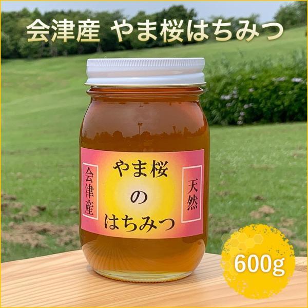 会津産 やま桜はちみつ 600g ふくしまプライド。体感キャンペーン(その他) fazenda