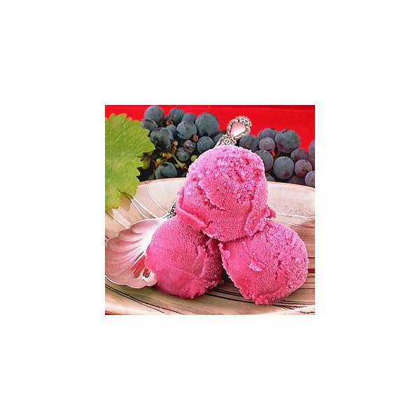 シャーベット 業務用 バルクアイス ぶどうソルベ 果汁100% 2L 明治 国産 2リットル
