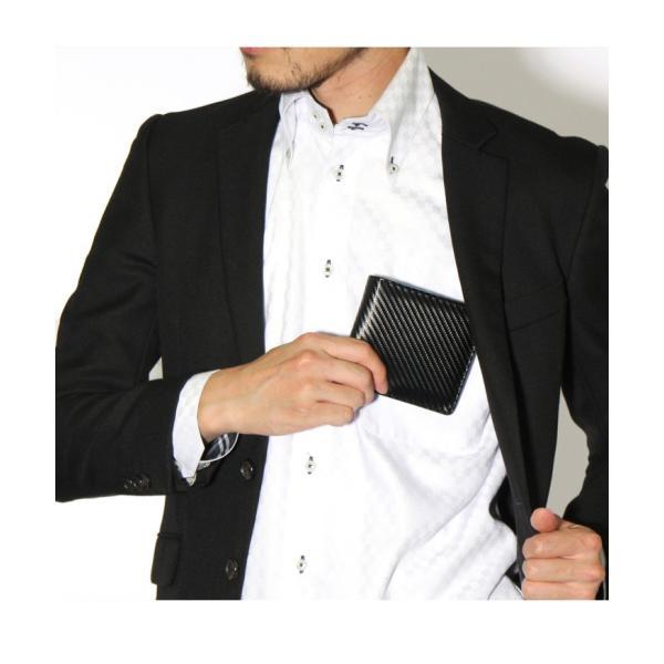 財布 メンズ 二つ折り 大容量 薄い 革 本革 カード 小銭入れ コンパクト サイフ さいふ メンズ財布 クリスマスギフト ポイント消化|fcase-jp|05