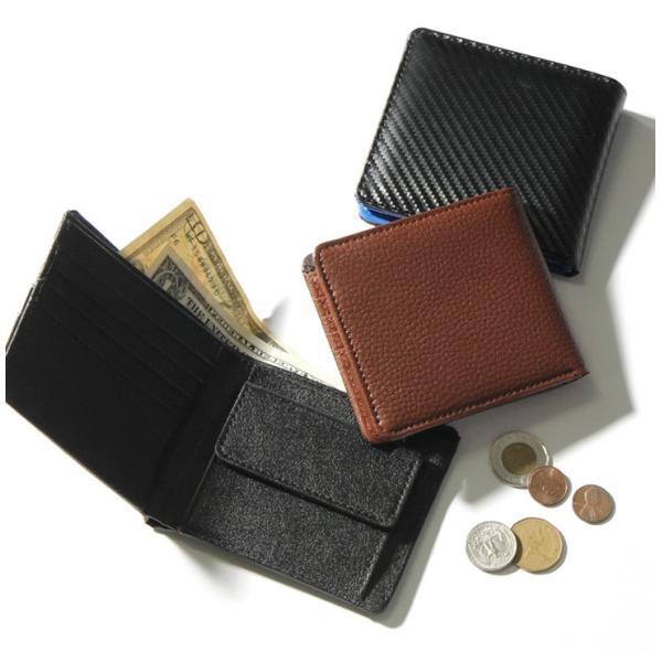 財布 メンズ 二つ折り 大容量 薄い 革 本革 カード 小銭入れ コンパクト サイフ さいふ メンズ財布 クリスマスギフト ポイント消化|fcase-jp|06
