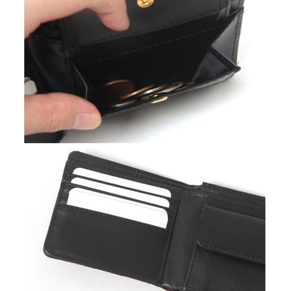 財布 メンズ 二つ折り 大容量 薄い 革 本革 カード 小銭入れ コンパクト サイフ さいふ メンズ財布 クリスマスギフト ポイント消化|fcase-jp|08