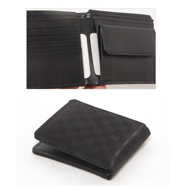 財布 メンズ 二つ折り 大容量 薄い 革 本革 カード 小銭入れ コンパクト サイフ さいふ メンズ財布 クリスマスギフト ポイント消化|fcase-jp|09