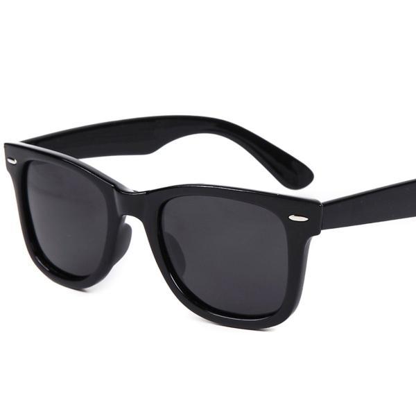 (フェリー) FERRY 偏光レンズ ウェリントン サングラス ポーチ&クロス セット ユニセックス ブラック fchallenge 06