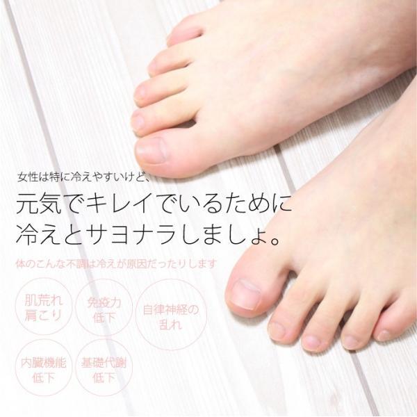 冷えとり靴下 4足セット (3570) 靴下 くつした ソックス  レディース 女性 メンズ 男性 天然素材 絹 シルク 綿 コットン 5本指靴下 日|fdsdaigo|03