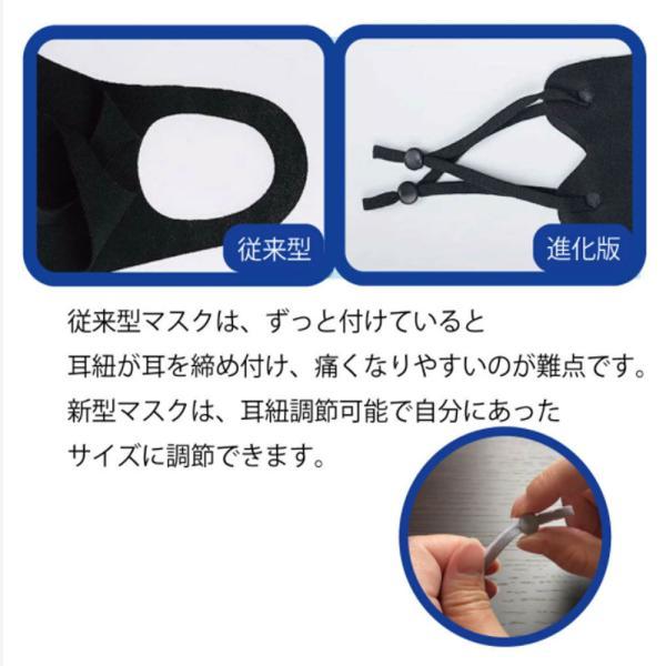 夏用 冷感マスク 接触冷感 洗って使える 5枚入り マスクケース入り 送料無料|featherstoa|06