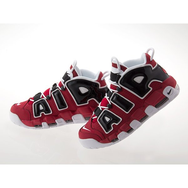 [ナイキ] NIKE AIR MORE UPTEMPO 96 エア モア アップテンポ 96 ブルズ 【ASIA HOOP】【CHICAGO BULLS】 VIRSITY RED/WHITE/BLACK #921948-600|fedes