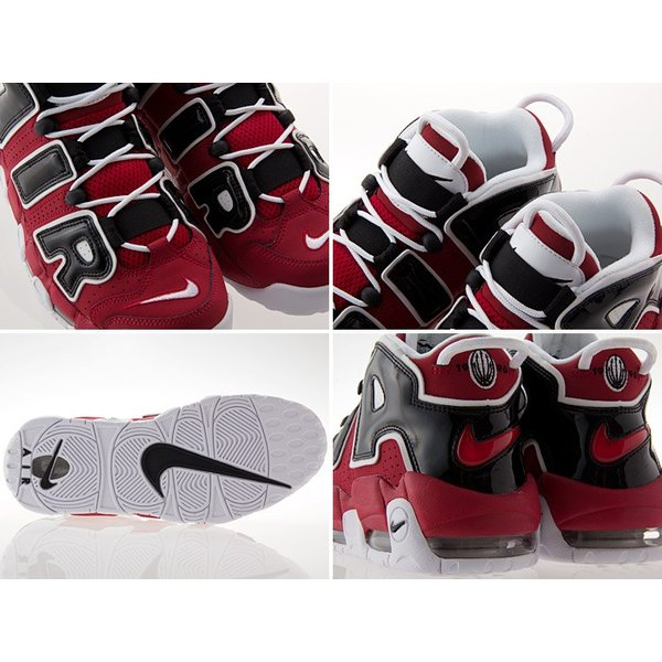 [ナイキ] NIKE AIR MORE UPTEMPO 96 エア モア アップテンポ 96 ブルズ 【ASIA HOOP】【CHICAGO BULLS】 VIRSITY RED/WHITE/BLACK #921948-600|fedes|03